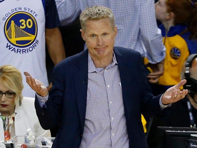 Warriors Attribut Finals Förlust Till Durants Ruptured Achilles, Klays Slitna ACL, Curry Hit Med Bus Nära Avsluta Spel 6