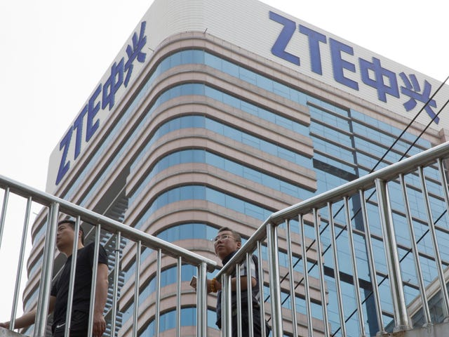 Trump Is Saving China's ZTE for Some Reason and Congress Can't Do Jack Shit About It