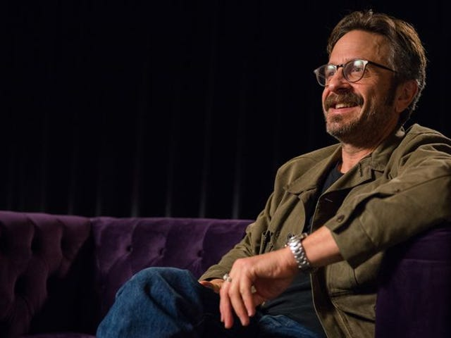 Marc Maron talks Barack Obama and The Graduate in this video exclusive
