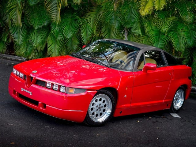 At $60,000, Could This 1990 Alfa Romeo S.Z. Prove That Beauty Is (Hopefully) More Than Skin Deep?