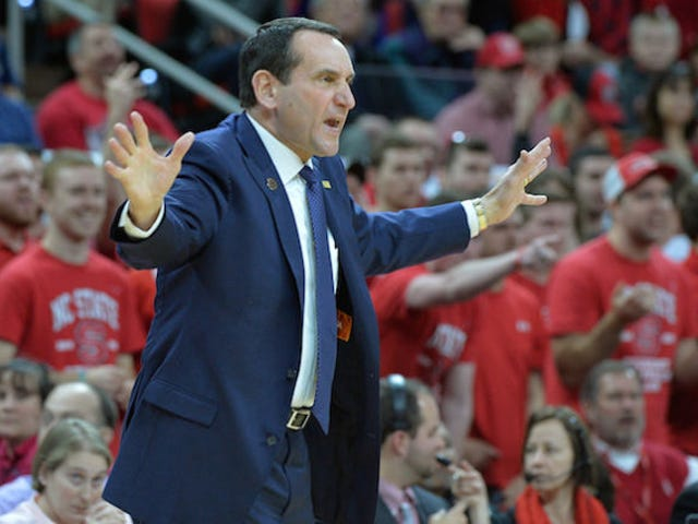 What If Coach K Never Wins Another Game?