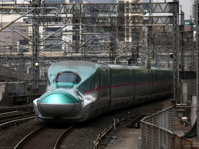 Japanese High-Speed Rail Line Was Brought to Standstill by Tiny Slug That Fried on Power Cable