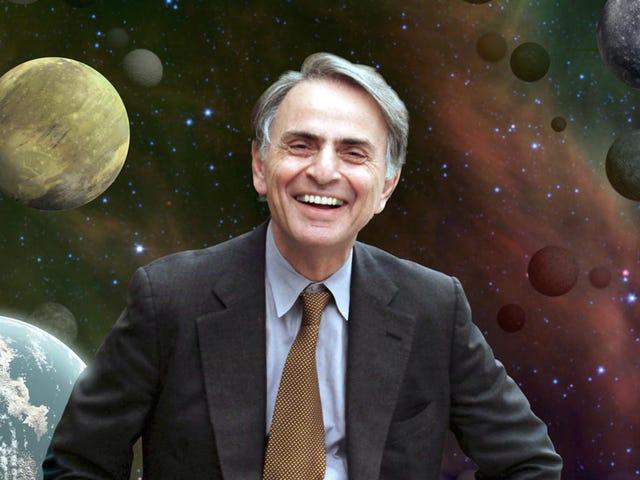 Klassinen palkinto Carl Sagan demostró a los terraplanistas tierra españa ja yksinkertainen palo