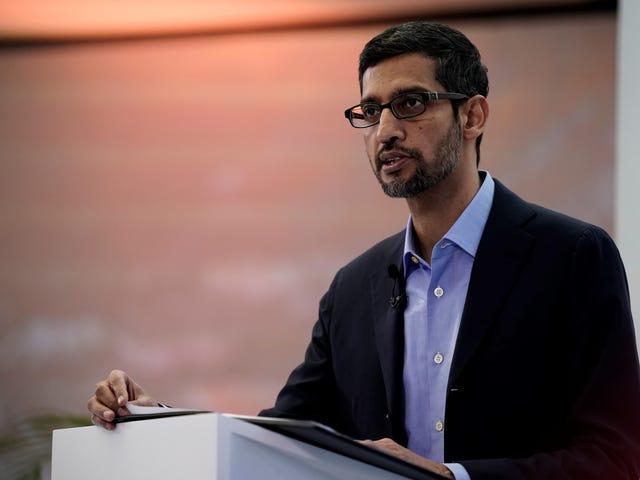 Alphabet CEO πλευρές με την ΕΕ για την αναγνώριση προσώπου Tech Moratorium, αλλά η Microsoft δεν είναι πεπεισμένη