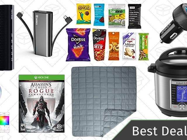 Tuesday's Best Deals: Xbox Digital Game Sale, Instant Pot Ultra, Smart Bulbs, and More