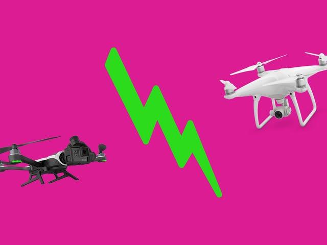 Πώς το GoPro Karma συγκρίνεται με το DJI Phantom 4