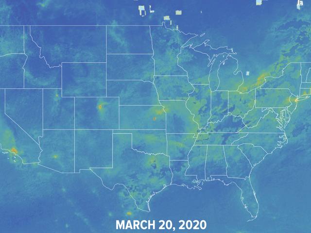 Koronawirus zmniejszył globalne zanieczyszczenie powietrza.  Ta interaktywna mapa pokazuje, w jaki sposób.