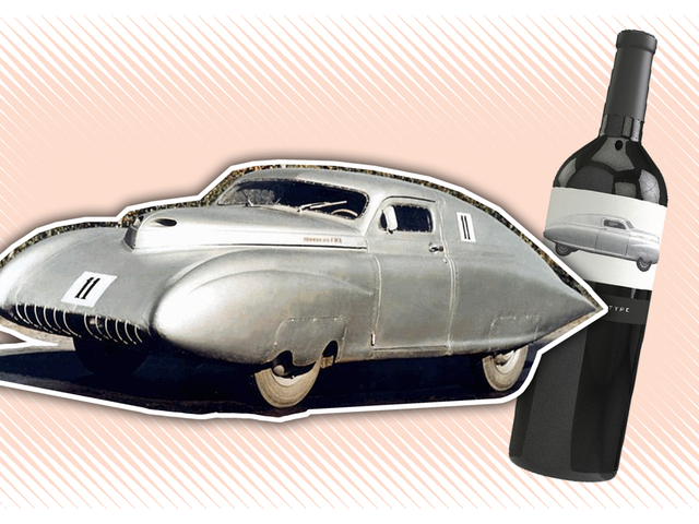 How A Really Obscure Soviet Race Car Ends Up On A California Wine Bottle