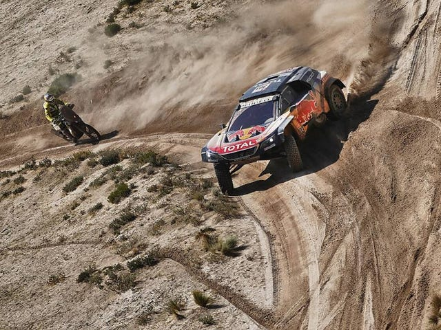 At The Halfway Point, Carlos Sainz Inherits Dakar Lead