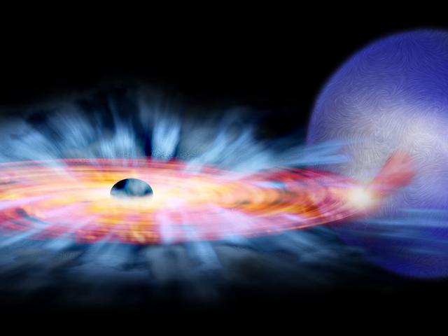 Internationales Weltraumstationsteleskop macht erstaunliche Beobachtung von Black Hole Eating Stuff