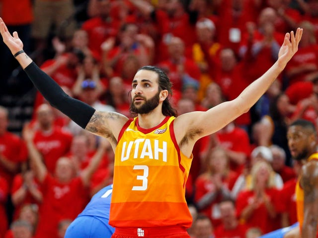 Grim And Gritty Ricky Rubio Has The Thunder On The Ropes
