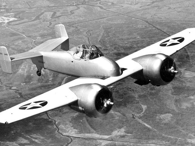 The Grumman XF5F Skyrocket: Adding lightness and power