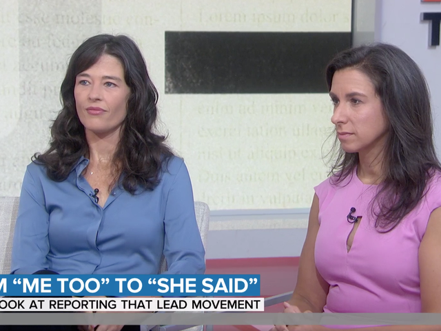 Megan Twohey and Jodi Kantor Earned Weinstein Accusers' Trust With a Single Line