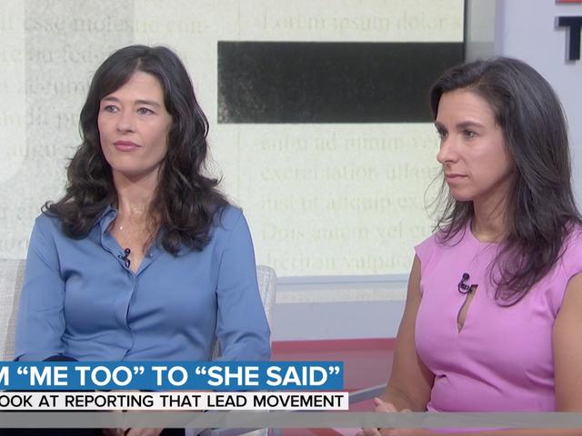 Megan Twohey og Jodi Kantor tjente Weinstein anklagernes tillid med en enkelt linje