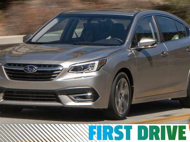 The 2020 Subaru Legacy Mostly Nails It As Long As You Get The Turbo Engine