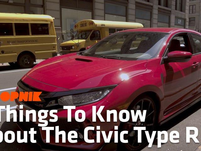 Πέντε πράγματα που πρέπει να γνωρίζετε για το μπροστινό σας τιμόνι Drive God King, το Honda Civic Type R