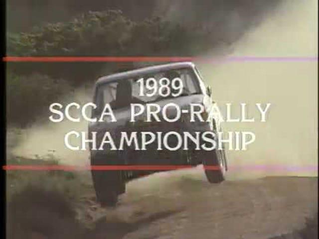 1989 SCCA Pro Rally season compilation