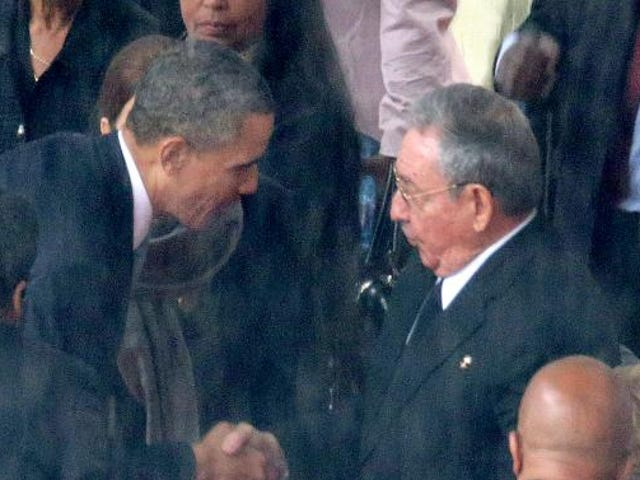 For Black Cubans, That Handshake Was Hope