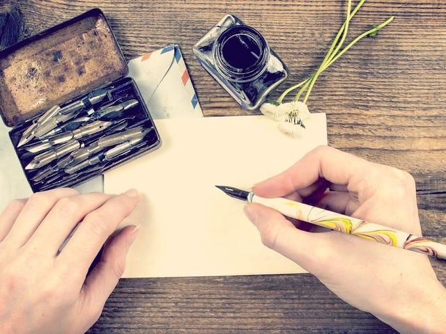 จดหมายที่เขียนด้วยลายมือเพียงไม่กี่ช่วยอาชีพของฉันได้อย่างไร