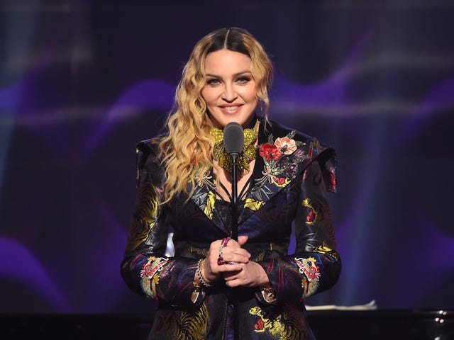 Madonna really is directing her own biopic, but she's not going to star in it