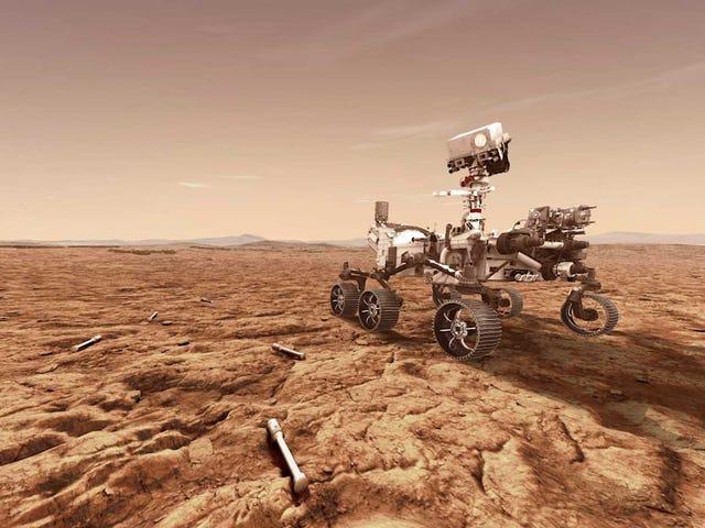 NASA ber om finansiering for en dristig plan for å bringe Marsjord til jorden