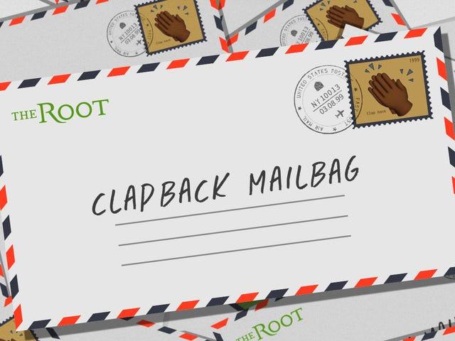 Почтовая сумка Root's Clapback: выход для подавленной белизны