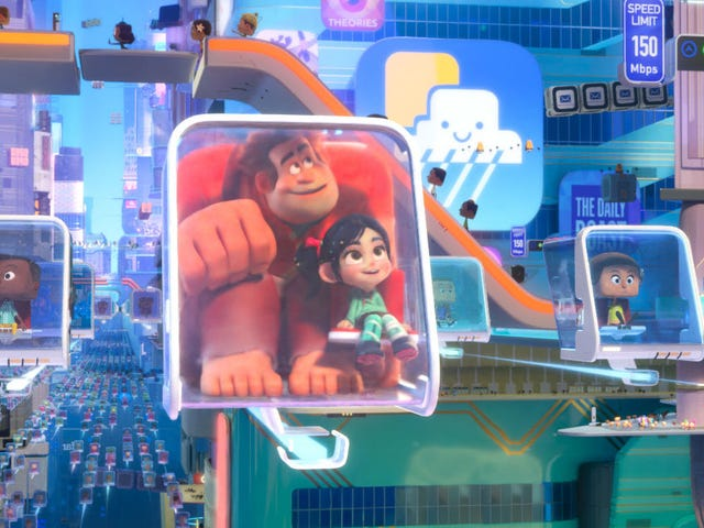Ralph Breaks the Internet Had a Few Totally Different Plots Before It Was Done