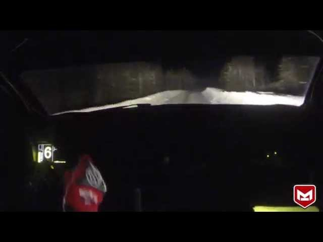 Watch A Rally Driver Bend Space And Time In The Snow