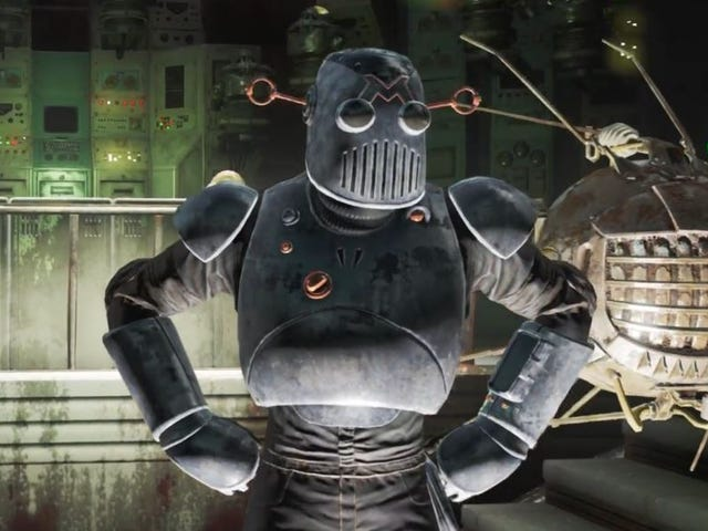 Robotarna i Fallout 4's Automatron DLC har en messed up story