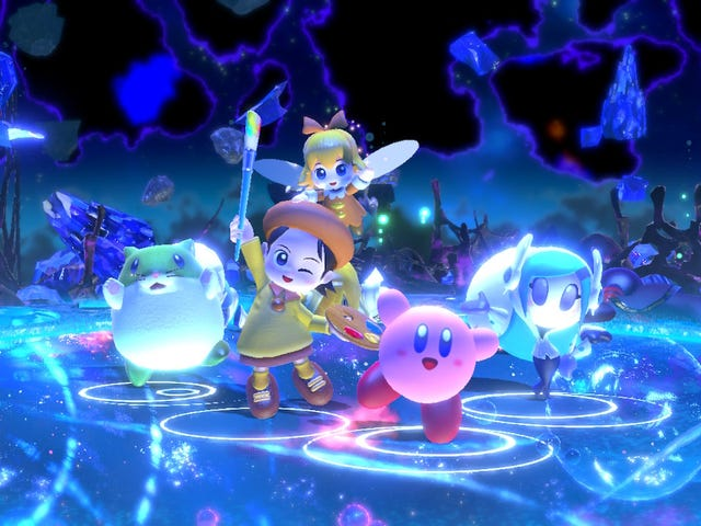 After A Year Of Free Updates, The Switch's Kirby Game Is Finally Very Good