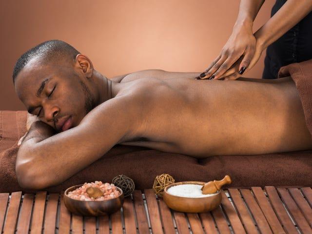 8 tanker, som jeg havde, mens jeg fik min første professionelle massage