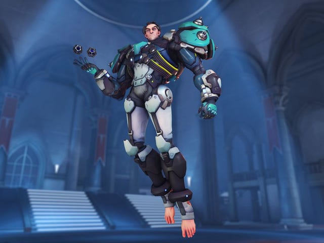 Overwatch's New Hero Sigma Is Slow But Scary
