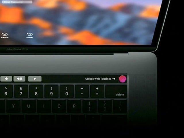 Sin pantalla táctil, sin SD y con puerto de auriculares: MacBook Pro -ohjelma