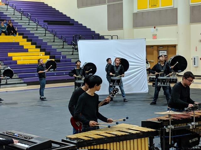 Winter percussion