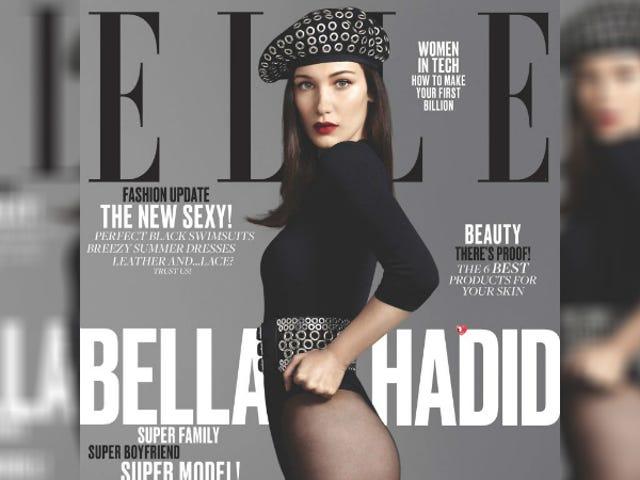 Bella Hadid Follows Up <i>Vogue Turkey</i> Cover With<i>Elle</i>