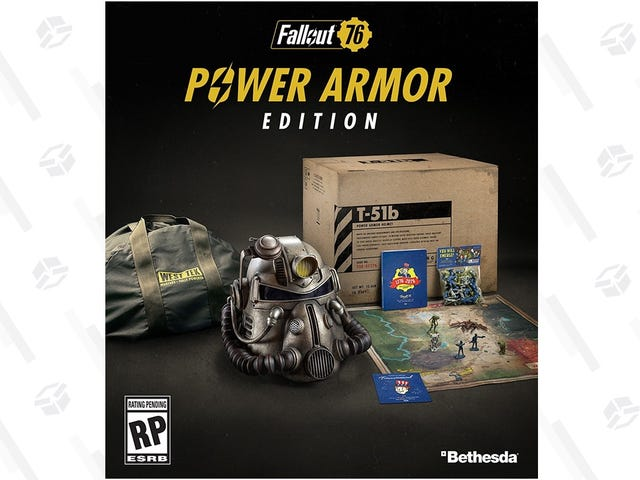 Preorder Fallout 76 Power Armor Edition, Before It Inevitably Sells Out (Again)