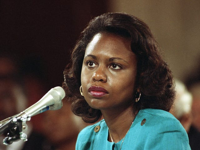 Anita Hill on the Weinstein Scandal: This Type of Shit Happens Every Day