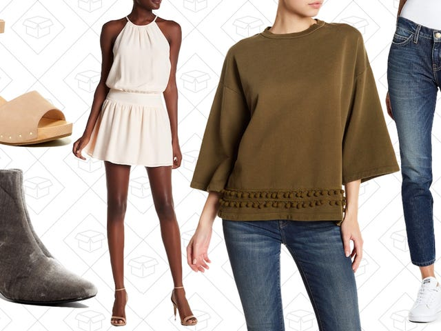 Get A New Sweater With Your New Jeans From This Current/Elliott and Joie Double Sale