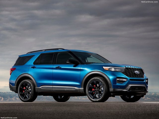 The Ford Explorer ST has Arrived, and It's Brought 400 BHP With It