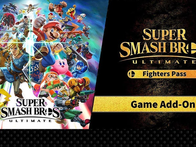 Super Smash Bros Ultimate's Fighter Pass Is Down to Its Lowest Price Ever