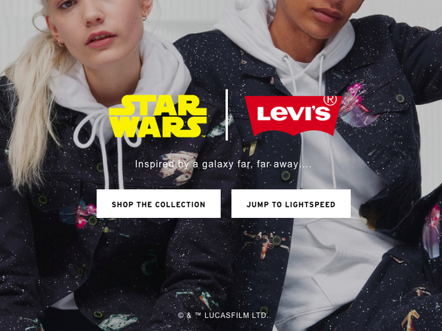 Non è una trappola!  È la New Star Wars x Levi's Collection.