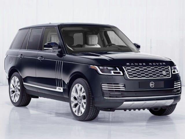 The Range Rover Astronaut Edition Is for Fools Who Need to Get Back to Work, for Me, on Earth