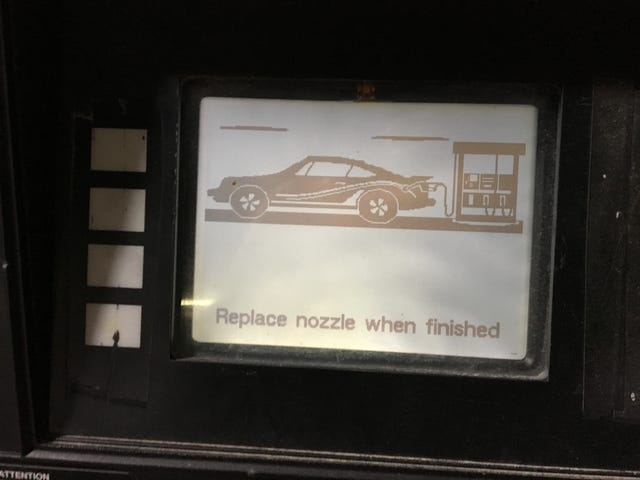 Local Gas Station Uses Rally Porsche Reminders
