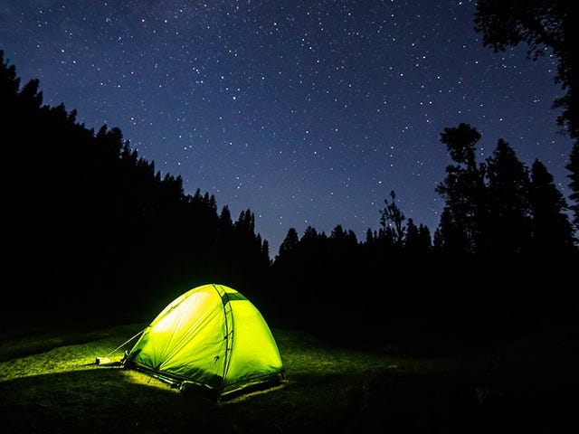 Exercise Before You Sleep to Stay Warm When Camping