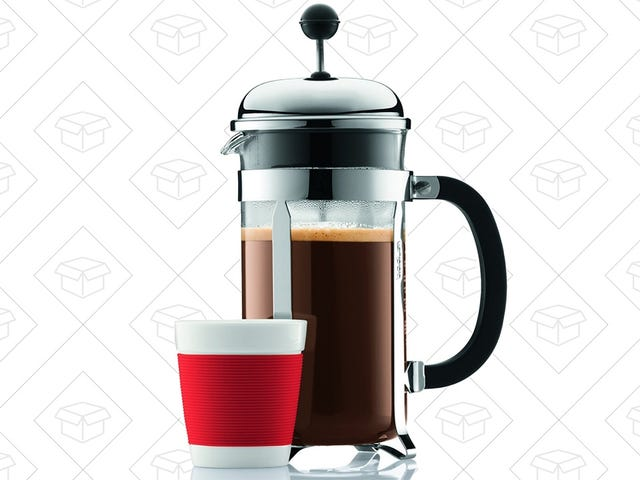 Press Your Way to Better Coffee With This Bodum Chambord