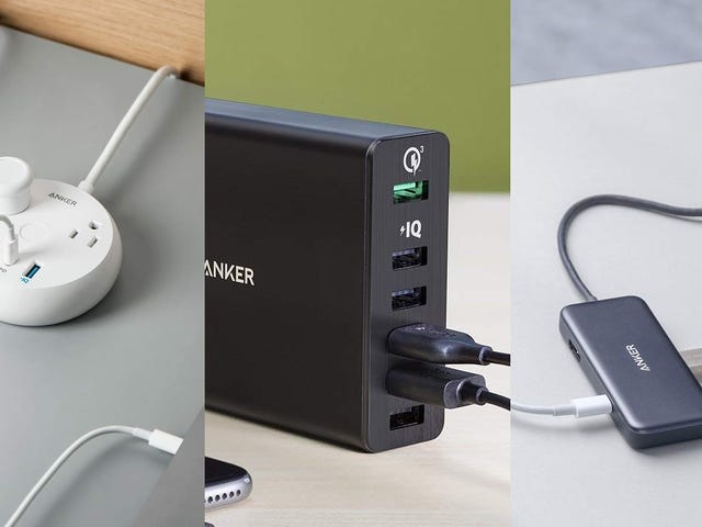 Outfit Your Office With a Bunch of One-Day Anker Deals