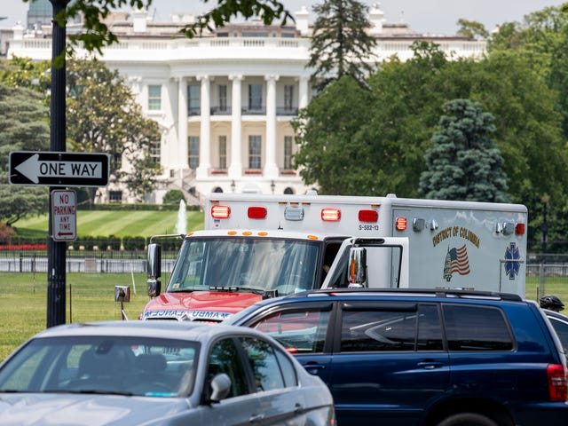 Man Sets Himself on Fire Near the White House, Secret Service Says