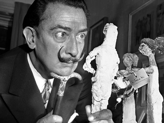 Salvador Dalí's Body Will Be Exhumed to Provide Samples in a Paternity Suit