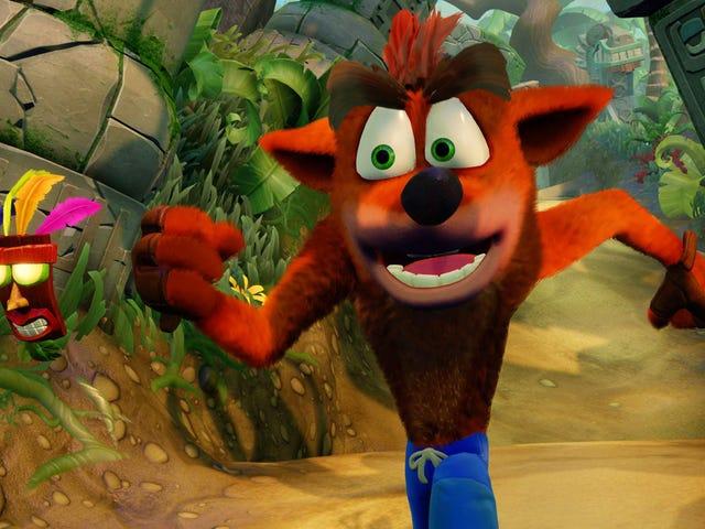 Los remasterizadores de <i>Crash Bandicoot</i> son realmente más duros que los originales
