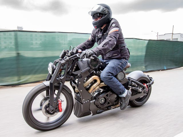 What I Learned Riding A $135,000 Motorcycle